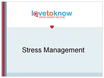 Stress Management PowerPoint Presentation