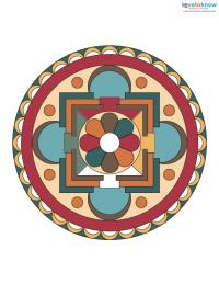 Free Mandala Designs to Print 1 color