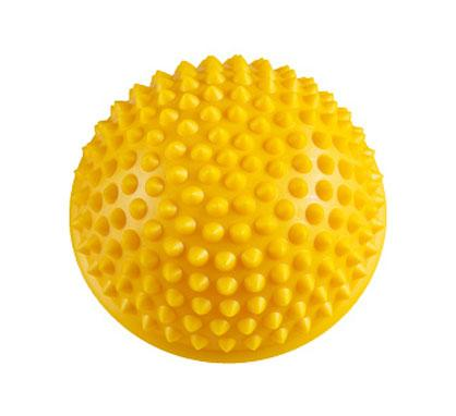 Textured yellow stress ball