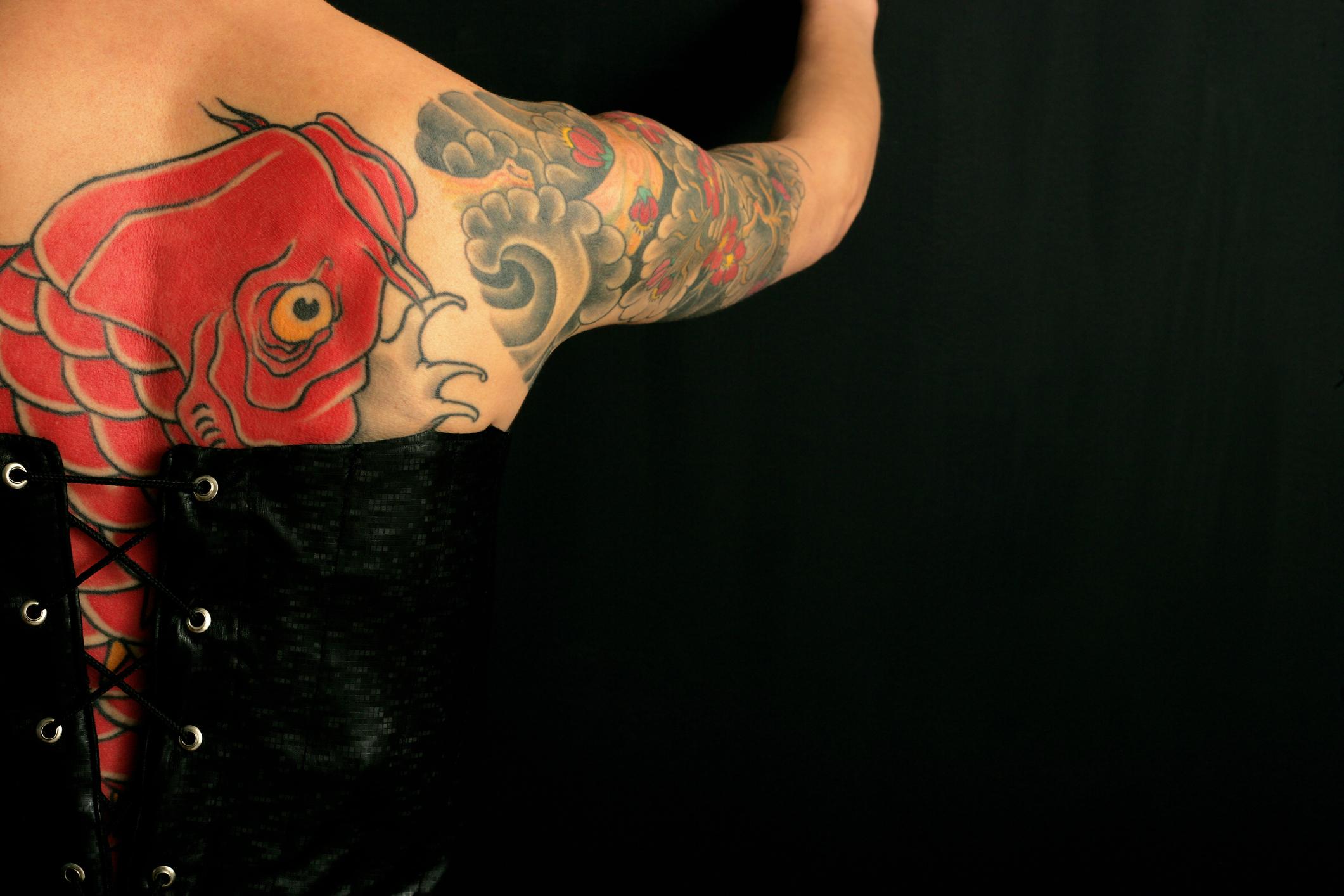 Koi Fish Tattoos Meanings Lovetoknow