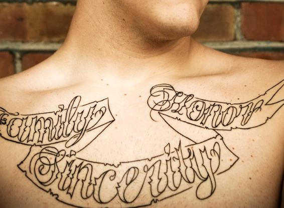 Latin tattoos font tattoo and art