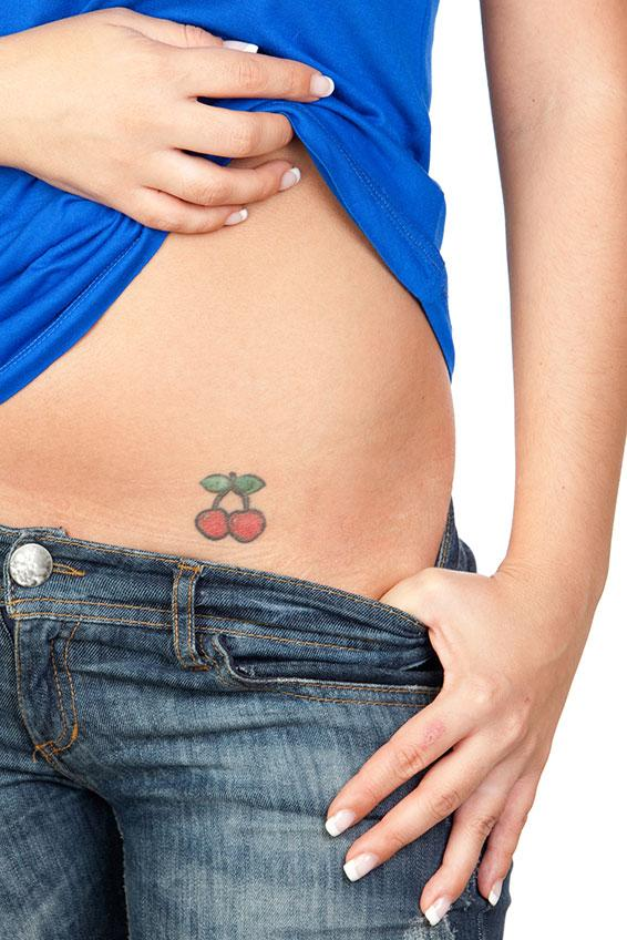Cherry tattoos lovetoknow cherry tattoo jose manuel gelpi diaz at dreamstime urmus Gallery