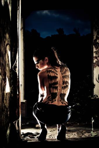 Angel Wings Tattoos Design Photos