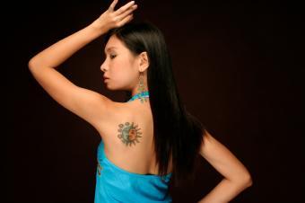 Sun Moon Star Tattoos