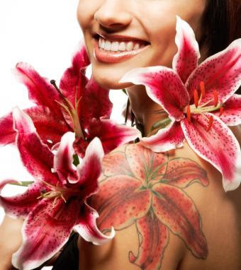 Flower Tattoo Gallery