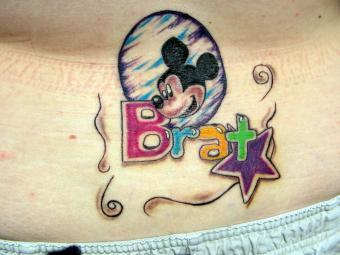 Brat tattoo