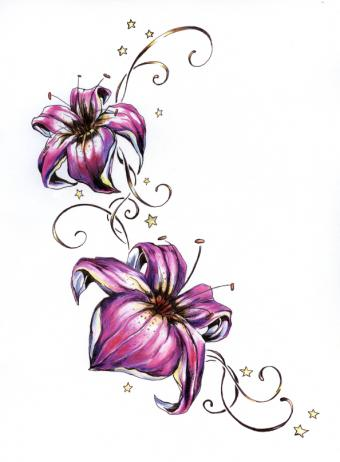 https://cf.ltkcdn.net/tattoos/images/slide/156650-594x808r1-Purple-flowers-with-stars.jpg