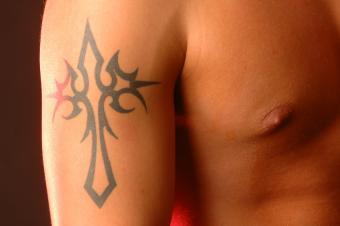 Cross Tattoos Photo Gallery