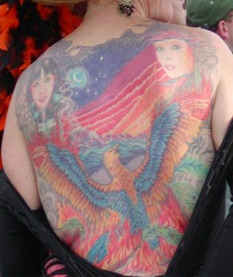 Native tattoo