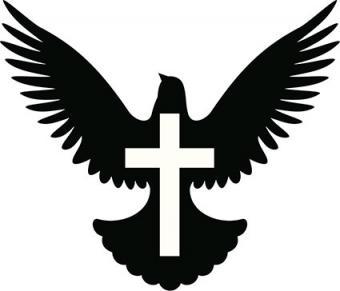 Latin Cross with Dove