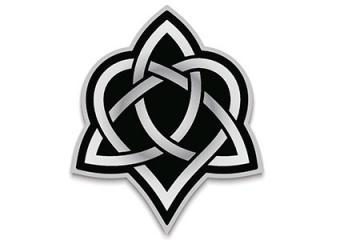 Celtic Trinity Lovers Heart