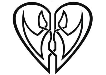 Celtic Lovers Heart