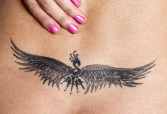 Unisex Lower Back Tattoo Pictures