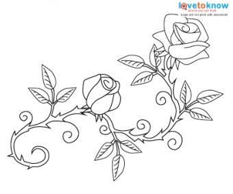 Rose flower wrist tattoo