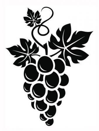 Grape vine tattoo design