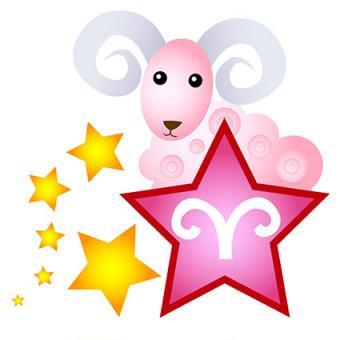 Ram glymph and stars tattoo