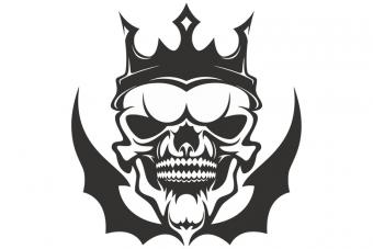 gothic tribal tattoo