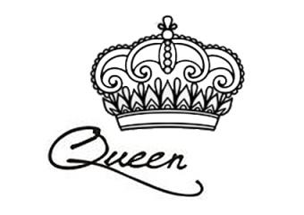 Royalty name tattoo