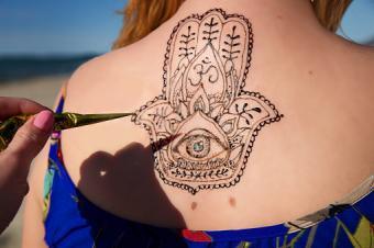 Arabic Symbols Tattoo