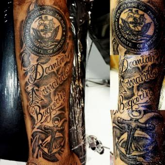 Traditional Navy Seal Tattoos