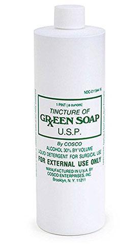 Cosco Tincture Tattoo Green Soap