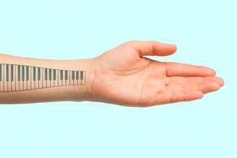 Cool Piano Tattoos for Music Lovers