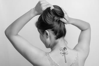 Jester scepter tatto