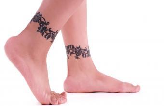 Female Ankle Tattoos