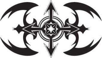 Cross Tattoo Flash