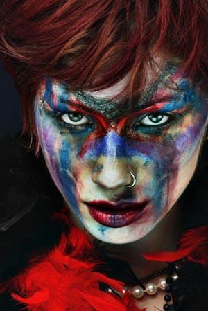 Face paint design