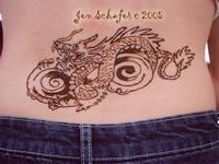 Henna Dragon