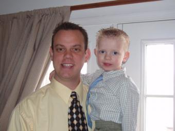 Kirk Swanson and son Ryan