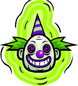 Evil Clown Tattoos