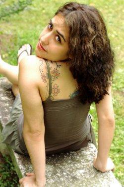 latina with tattoos
