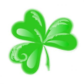 Sweet and simple shamrock
