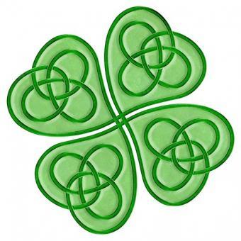 Celtic lucky clover