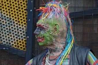 Strange Body Piercings