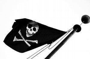 Pirate ship flag