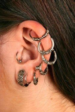 Exotic Ear Piercings