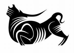 Tribal Taurus design