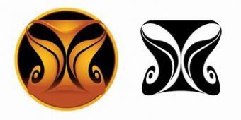 Aquarius Tribal Tattoo