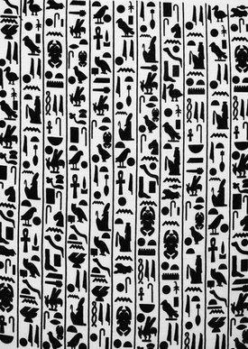 Egyptian Hieroglyphics Tattoos