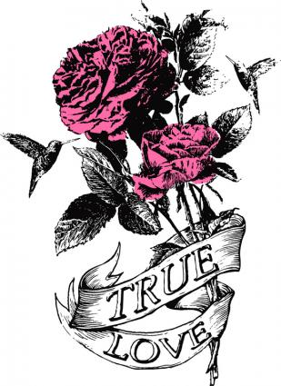 True love tattoos lovetoknow for True love tattoos