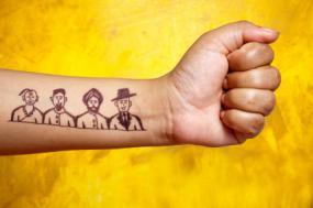 Inner wrist tattoo