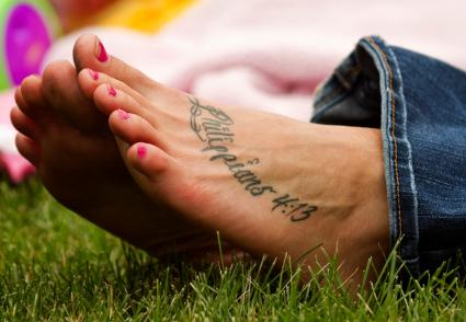 0cd7b63fa227c Foot Tattoos | LoveToKnow
