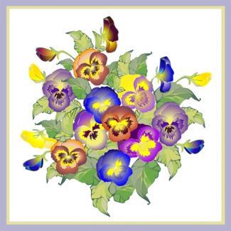 Pansies; © Shameyeva | Dreamstime.com