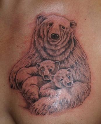 Bear Tattoo Designs Lovetoknow