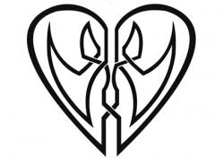 Celtic Lovers Heart
