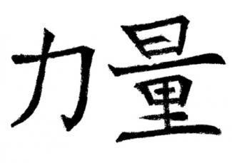 Chinese Character for Strength