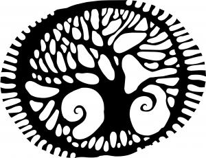 tree tattoo pattern